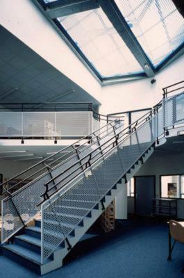 Escaliers du collège Liberté - Drancy