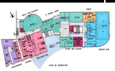 Plan du collège